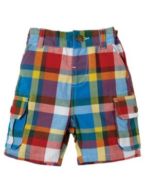 Pantaloni scurţi în carouri