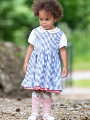 Rochie fetiţe Dotty Gingham