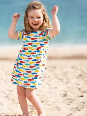 Rochiţă plajă fetiţe Towelling, din frotir