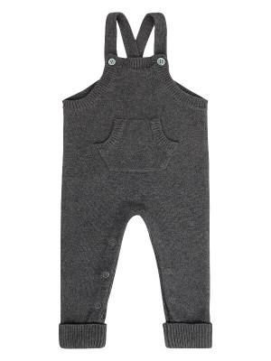 Salopetă tricotata Mion Grey