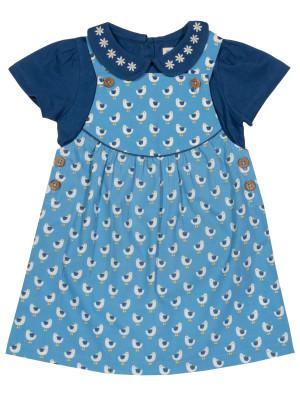 Set tricou și rochiţă cu Pescăruși