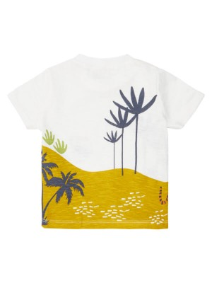 Tricou bumbac organic Odo Jungle Print