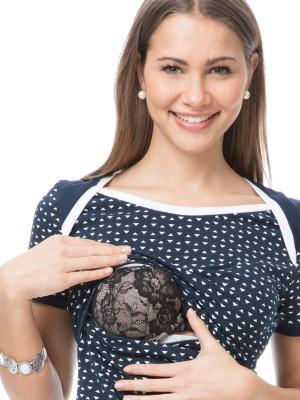 Tricou pentru sarcină şi alăptare Sea