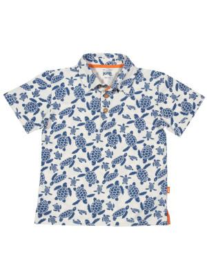 Tricou polo cu broscuţe, pentru băieţi