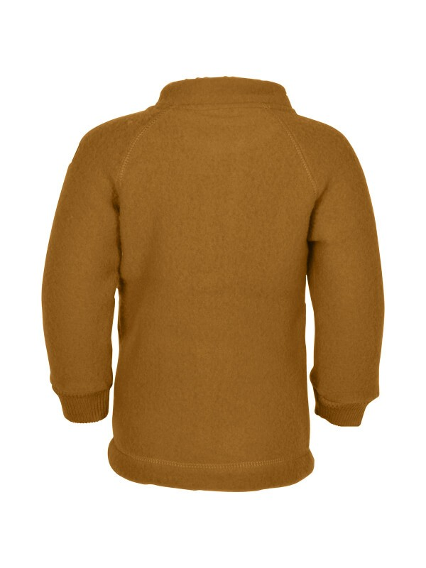 Jachetă copii lână fleece Golden Brown