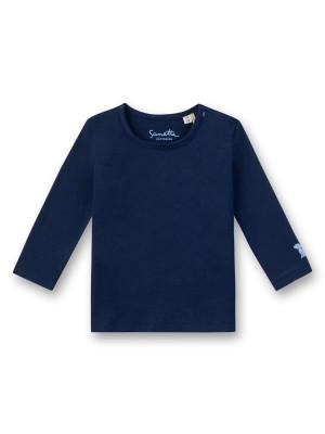 Bluză bumbac organic Basic bleumarin