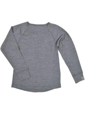 Bluză lână copii Grey Melange