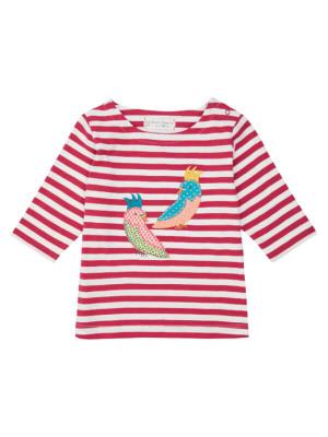 Bluză mâneci ¾ Louise Pink Stripes