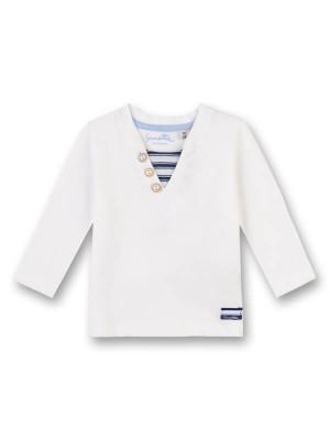 Bluză mânecă lungă bebe, bumbac organic