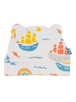 Căciuliţă bebe Ship, bumbac organic