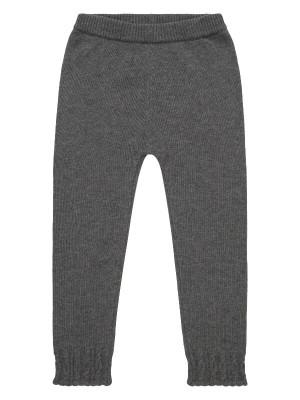 Colanţi tricotaţi fete Yuma Dark Grey