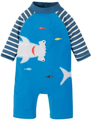 Costum de baie copii UPF 50+ Blue Shark