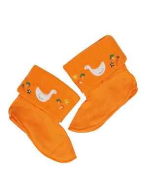 Inserturi pentru cizme cauciuc Warm Up Orange
