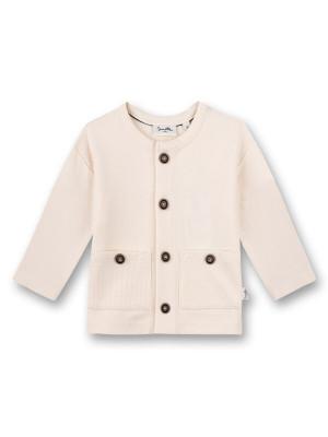 Jachetă tricotată unisex White