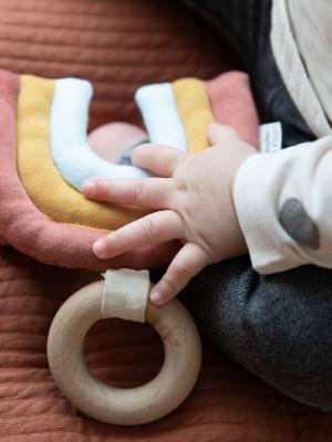 Jucărie lemn bebe Curcubeu Pure Nature