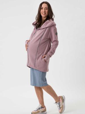 Palton sarcină şi babywearing Kaya Dusty Rose