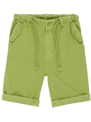 Pantaloni din twill Ulli Green