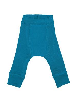 Pantaloni dublaţi lână merino Longies Mykonos