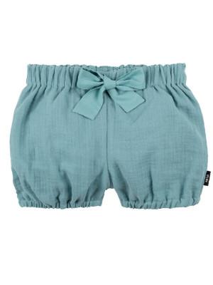 Pantaloni scurţi muselină Minty Ice