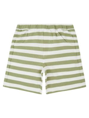 Pantaloni scurţi pentru băieţi Khan Olive Stripes