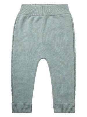 Pantaloni tricotaţi bebe Pablo Light Olive