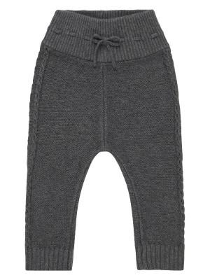 Pantaloni tricotaţi bebeluşi Etenia gri