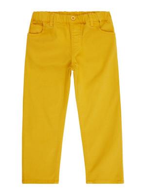 Pantaloni twill fete Dea Mustard