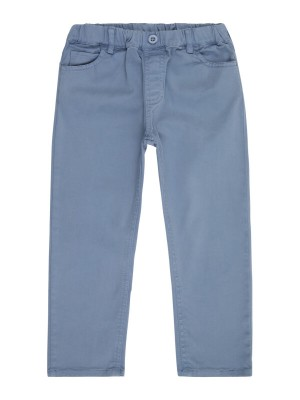 Pantaloni twill fete Dea Stone Blue