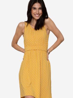 Rochie pentru sarcină şi alăptare Zoo Yellow Dots