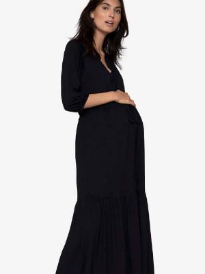 Rochie sarcină şi alăptare Zulle Black