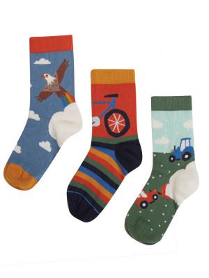 Set 3 perechi şosete copii Rock My Socks