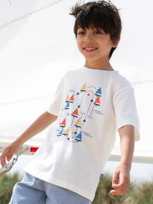 Tricou băieţi Sailing Race