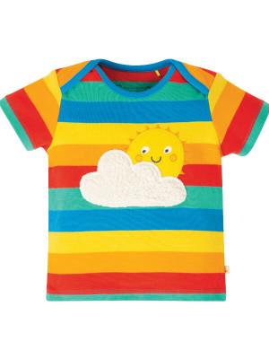 Tricou bebe Bobster Rainbow Multi Stripe