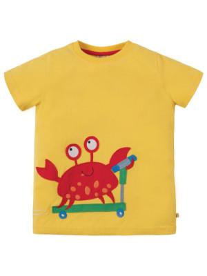Tricou galben băieţi James