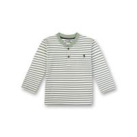 Bluză din bumbac organic Sanetta Pure, dungi verzi