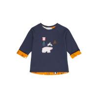 Bluză reversibilă Dolores Navy Polar Bear