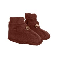 Botoşei lână fleece Madder Brown