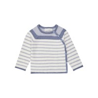 Cardigan bebe Picasso Icegrey Stripes