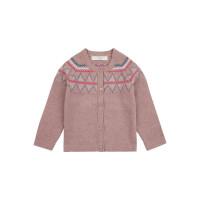 Cardigan tricotat fete Ova bumbac organic