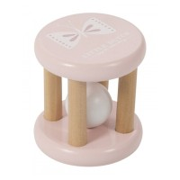 Cilindru lemn cu bilă, roz