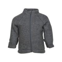 Jachetă cu mănuşi lână fleece Grey