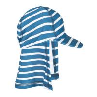 Pălărie protecţie solară UPF 50+ Steely Blue Stripe