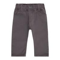 Pantaloni bebe căptuşiţi din twill Kalani Anthracite