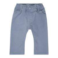 Pantaloni bebe căptuşiţi din twill Kalani Stone Blue