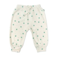 Pantaloni bebe Dotted Leaves