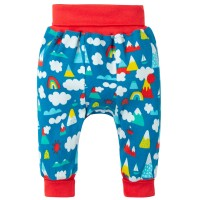 Pantaloni bebe Parnsip Rainbow, Grow with me