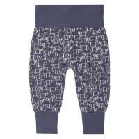 Pantaloni bumbac organic bebe Sjors Rhino
