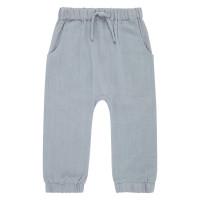 Pantaloni din muselină Loki Dusty Blue