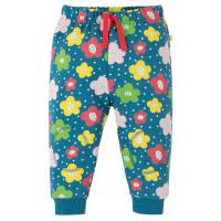 Pantaloni lungi copii Snuggle Blue Floral