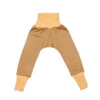 Pantaloni lungi lână şi mătase Yellow Plum